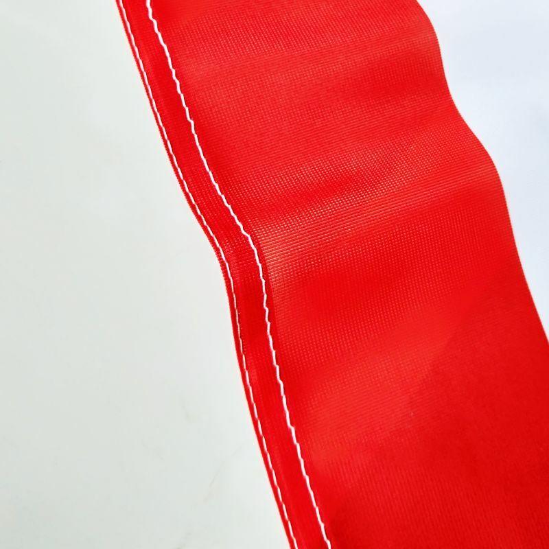 الرسم مخصص مطبوعة العلم البوليستر غطاء رمح الحلقات النحاس تصميم مجاني في الهواء الطلق لافتة إعلانات الديكور الطرف الرياضة