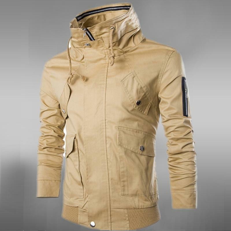 جاكيتات منفوخة للرجال ، بقصة ضيقة ، ياقة مزدوجة ، ملابس خارجية ، معطف ، بدلة رياضية ، خريف وشتاء ، عرض خاص