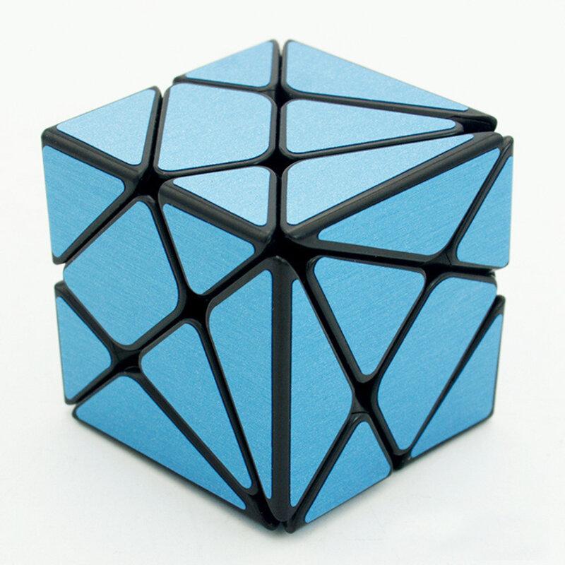 KingKong Speed Magic Cube 3x3x3 ، ملصق مجوف ، ألغاز فيشر ، مكعبات ، ألعاب تعليمية للأطفال ، هدية الكريسماس ، أسود