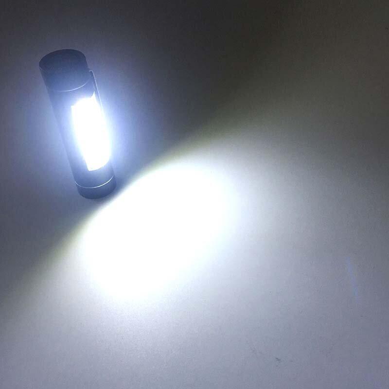WasaFire-مصباح يدوي صغير محمول COB LED ، فانوس عمل ، مصباح جانبي خاص للتخييم والمشي لمسافات طويلة ، بطارية 14500 أو AA
