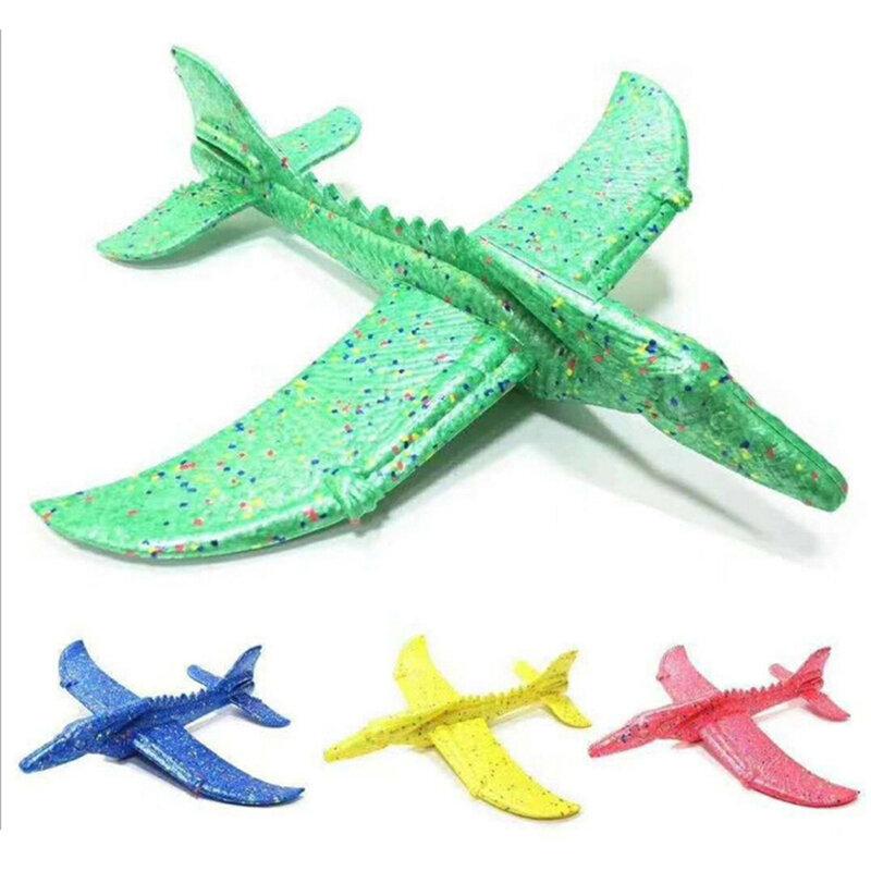 طائرة فوم بالقصور الذاتي EPP ، قطار ديناصور ، تنين ، 48 سنتيمتر ، إطلاق يدوي ، نموذج طائرة شراعية ، لعبة تعليمية خارجية