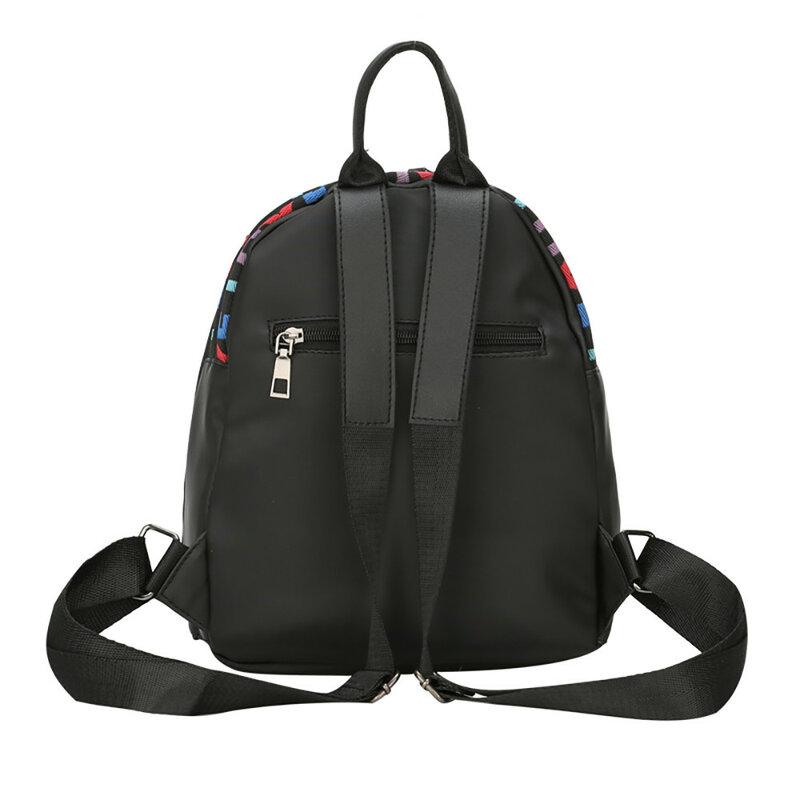 حقيبة مدرسية s للبنات موضة حقيبة مدرسية للمراهق الحب حقيبة كتف عادية مع حقيبة في الهواء الطلق Mochilas Escolar