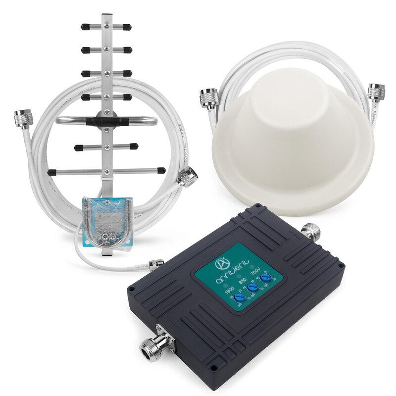 2G/3G/4G 850/1900MHz 700 فيريزون مكرر إشارة الداعم CDMA 850 3G PCS 1900 الهاتف المحمول 3G 4G مكرر الفرقة 5/2/13 مكبر للصوت