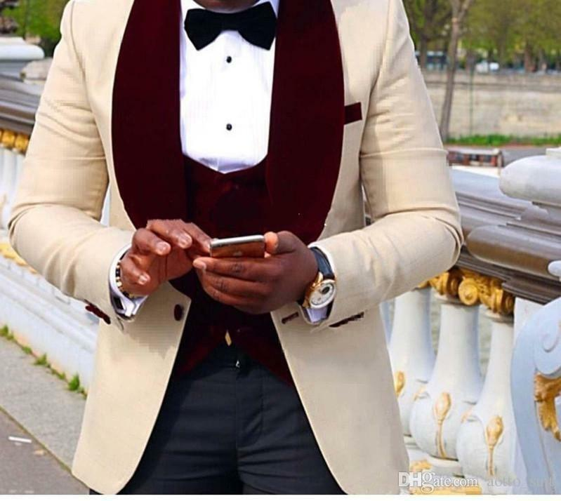 بدلة رسمية من مزيج الصوف لرفقاء العريس للرجال ، بدلة رسمية ، سترة رجالية ، عشاء حفلة موسيقية ، سترة ، بنطلون ، ربطة عنق ، سترة ، A155