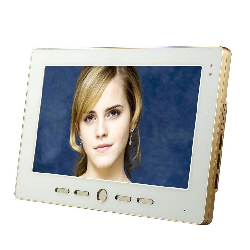 جرس باب فيديو مع كلمة مرور TFT RFID ، 10.1 بوصة ، نظام اتصال داخلي بدون كهربائي