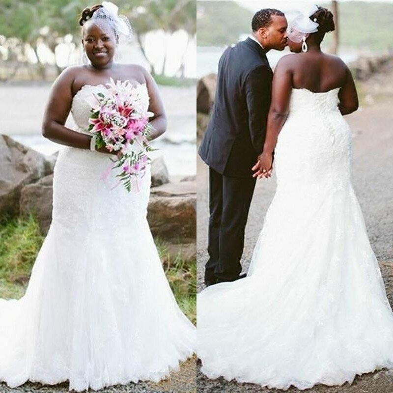 بسيط الإمبراطورية حورية البحر فساتين الزفاف سويب تراين دانتيل زينة موضة فساتين الزفاف الأفريقية الدانتيل حتى الظهر