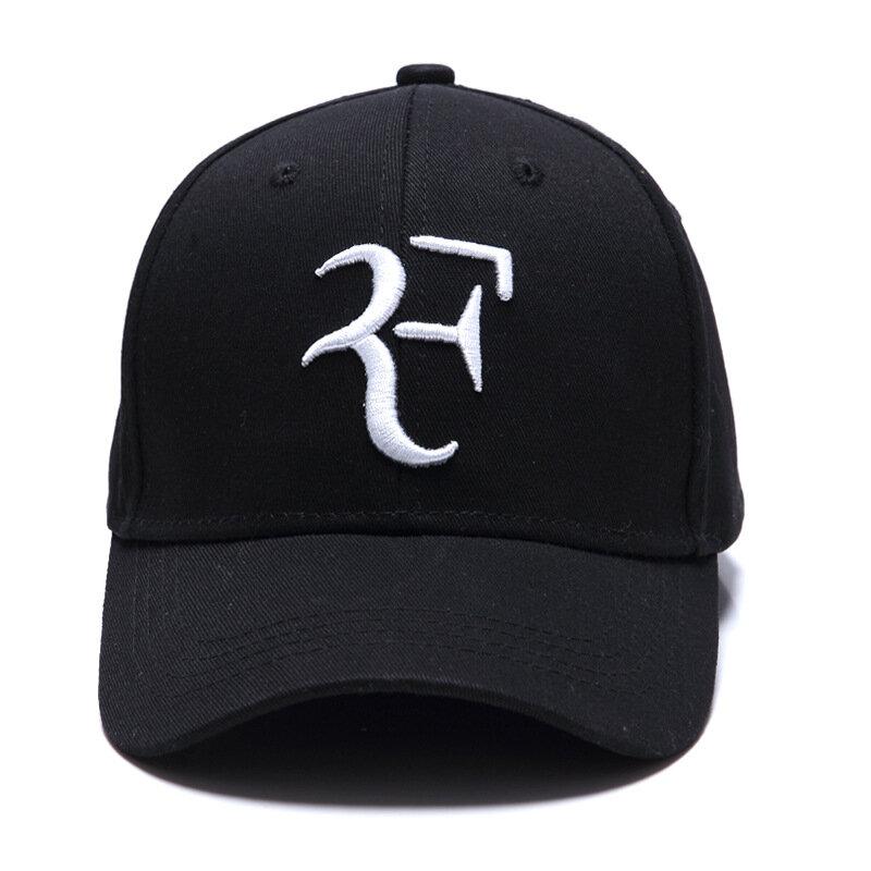 جديد نجم التنس السويسري روجيه فيدرر كاب 3D التطريز أبي البيسبول قبعات للجنسين Snapback قبعة تنس F القبعات دروبشيبينغ
