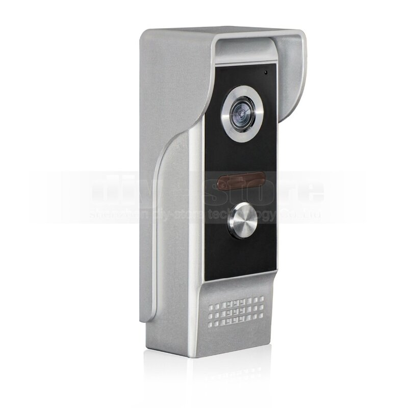 Diysecur 7 بوصة فيديو إنترفون فيديو باب الهاتف كاميرا 700tv الخط ir للرؤية الليلية في الهواء للمنزل/مكتب الأمن نظام
