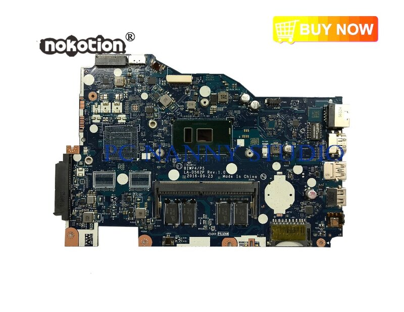 PANANNY BIWP4 P5 LA-D562P لينوفو Ideapad 110-15ISK اللوحة DDR4 4405U اختبار