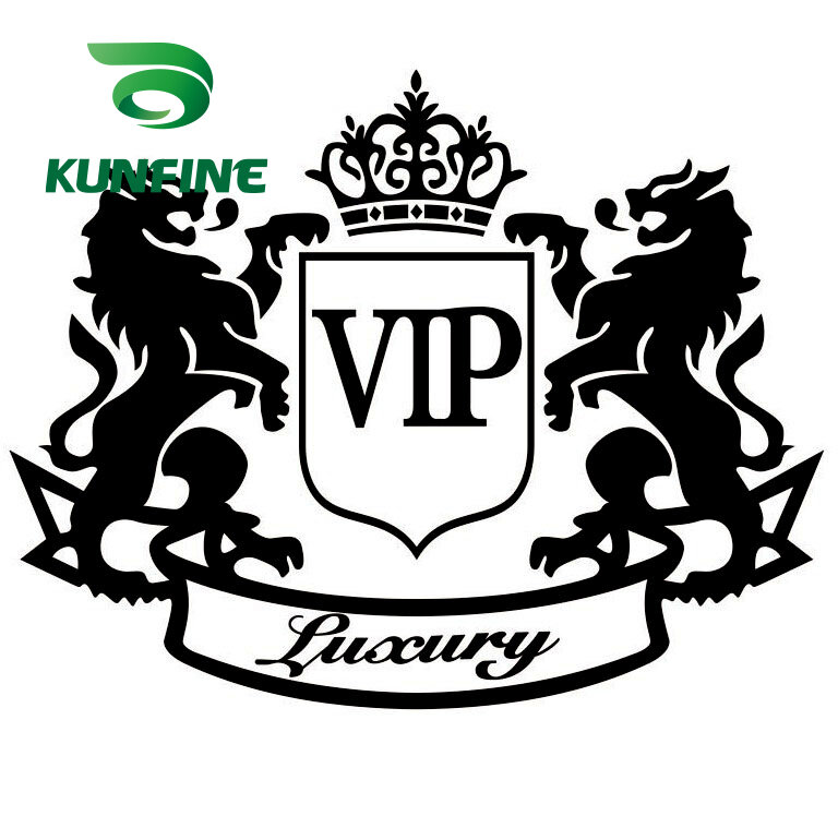 KUNFINE-ملصق سيارة من الفينيل ، فيلم تزيين السيارة ، أجزاء ضبط ، VIP