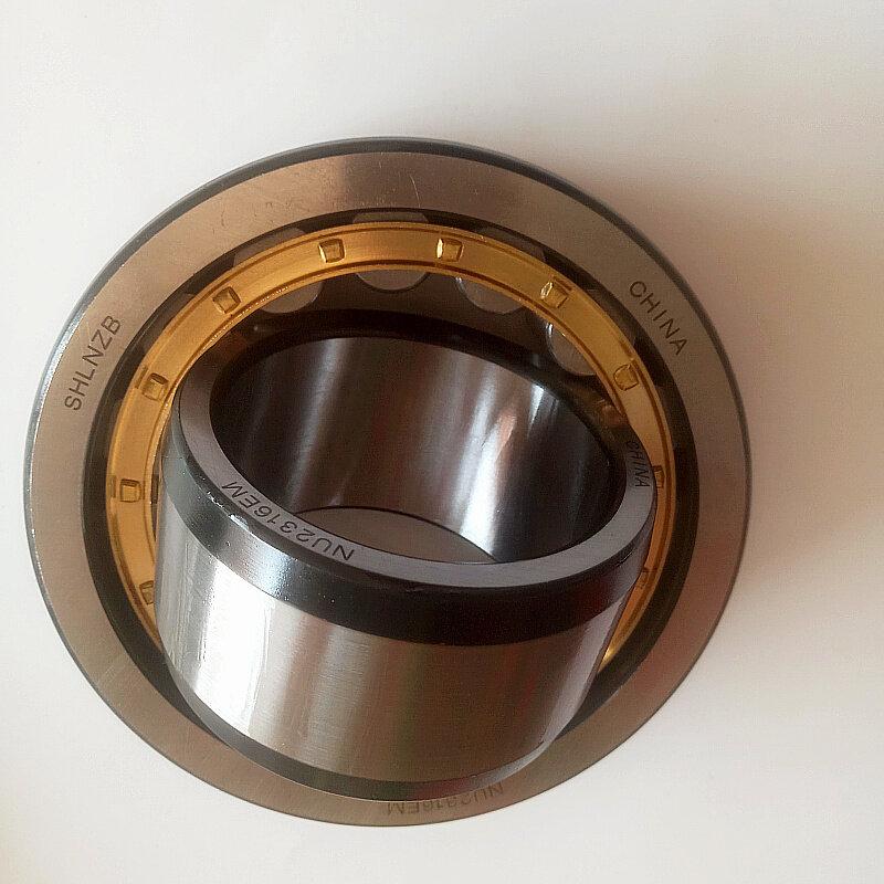SHLNZB تحمل 1 قطعة NU208 NU208E NU208M C3 NU208EM NU208ECM 40*80*18 مللي متر النحاس قفص أسطواني الأسطوانة محامل