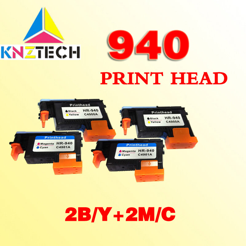 4x متوافق رأس الطباعة رأس الطباعة ل hp940 ل 940 برو 8000 8500 8500A 8500A A909a A909n A909g A910a A910g A910n