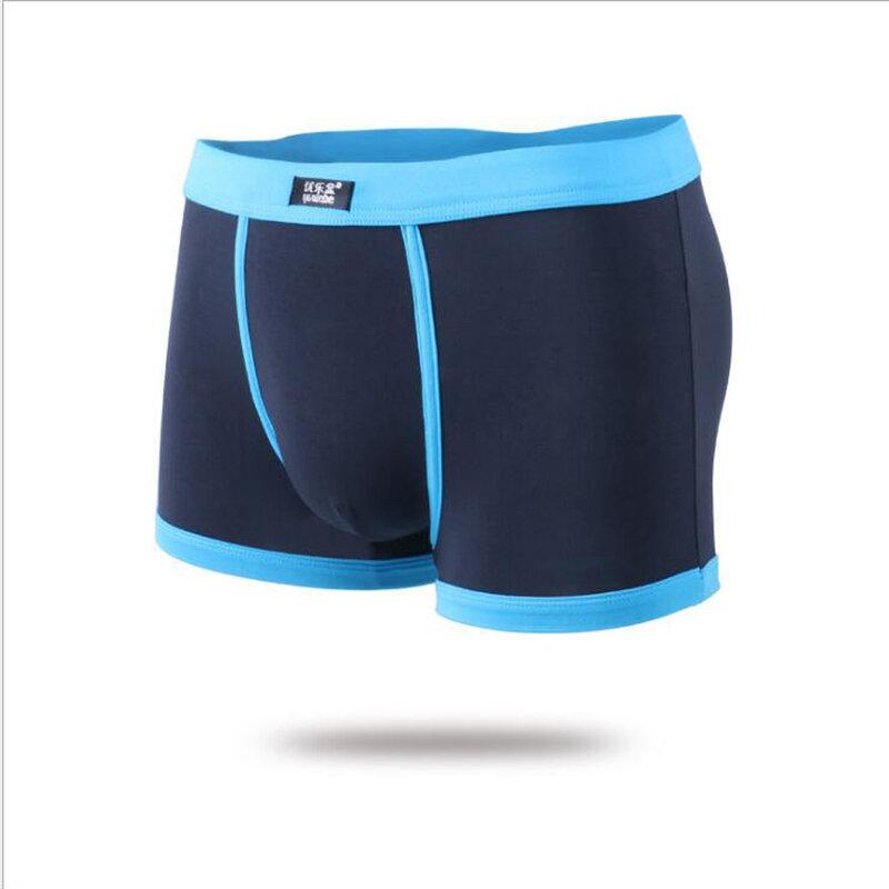 تشنغ هنغ الصيف أزياء مثير تنفس الملاكم الملابس الداخلية العلامة التجارية الرجال الخصر مشروط ضرب اللون الملاكم