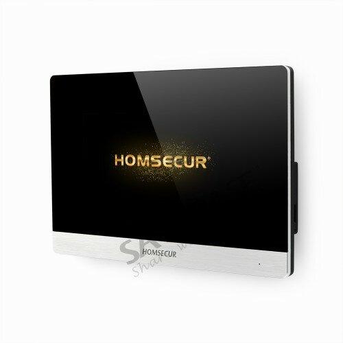 """HOMSECUR 7 """"AHD حر اليدين الفيديو والصوت المنزل الداخلي مع واجهة المستخدم BC011HD-S + BM716HD-S"""