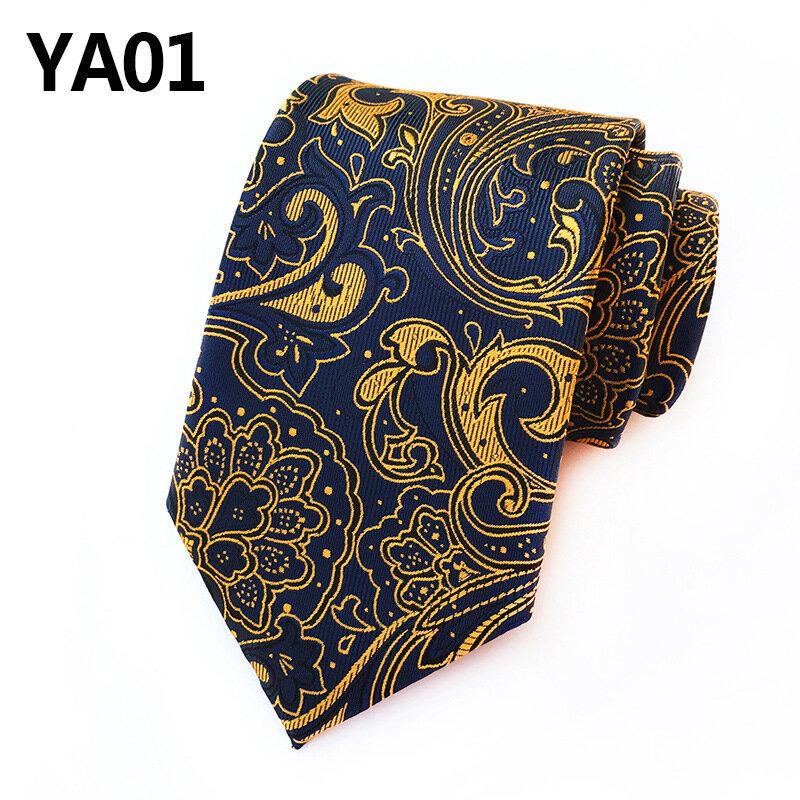 ربطة عنق حرير 8 سنتيمتر للرجال ، زهور ، زفاف ، بدلة رفقاء العريس ، هدايا للرقصات