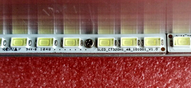 ل TCL L32P21BD المادة مصباح CT320H1-48-101001-V1.0 1 قطعة = 48LED 362 مللي متر