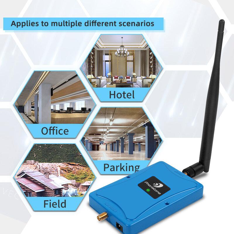 مضخم إشارة 3G/4G/1700MHz ، معزز/مكرر لشبكة الهاتف الخلوي ، AWS 1700 ، 4 مكرر/هوائي
