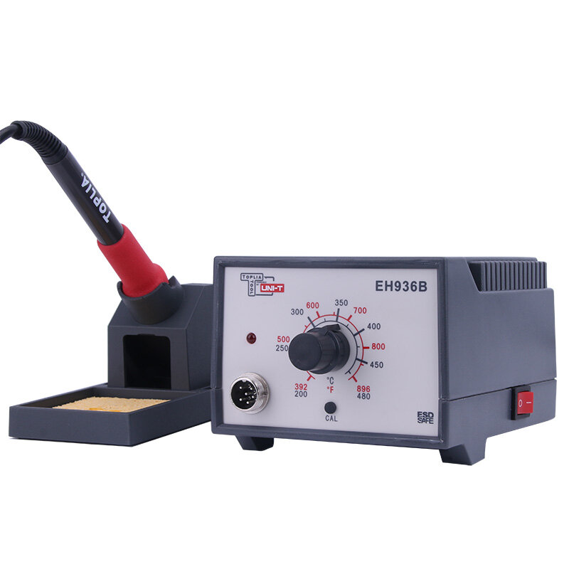 UNI-T 60 واط محطة لحام شاشة ديجيتال ذكي قابل للتعديل EH969 لحام أداة إصلاح مجموعة لحام درجة حرارة ثابتة