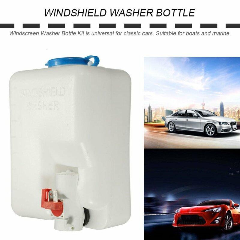 12 فولت العالمي عالية الجودة زجاج سيارة غسالة خزان زجاجة مضخة عدة جيت التبديل أداة نظيفة سهلة ومريحة للاستخدام
