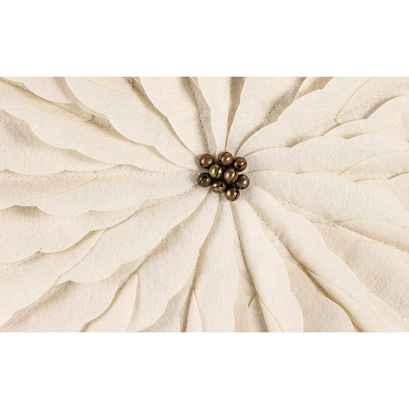 الكتان الهندباء كيس وسادة الشمال ثلاثية الأبعاد الأزهار عودة الوسائد غطاء الحديثة تصميم بسيط المخدة غرفة المنزل فوندا alenhada 45*45 سنتيمتر
