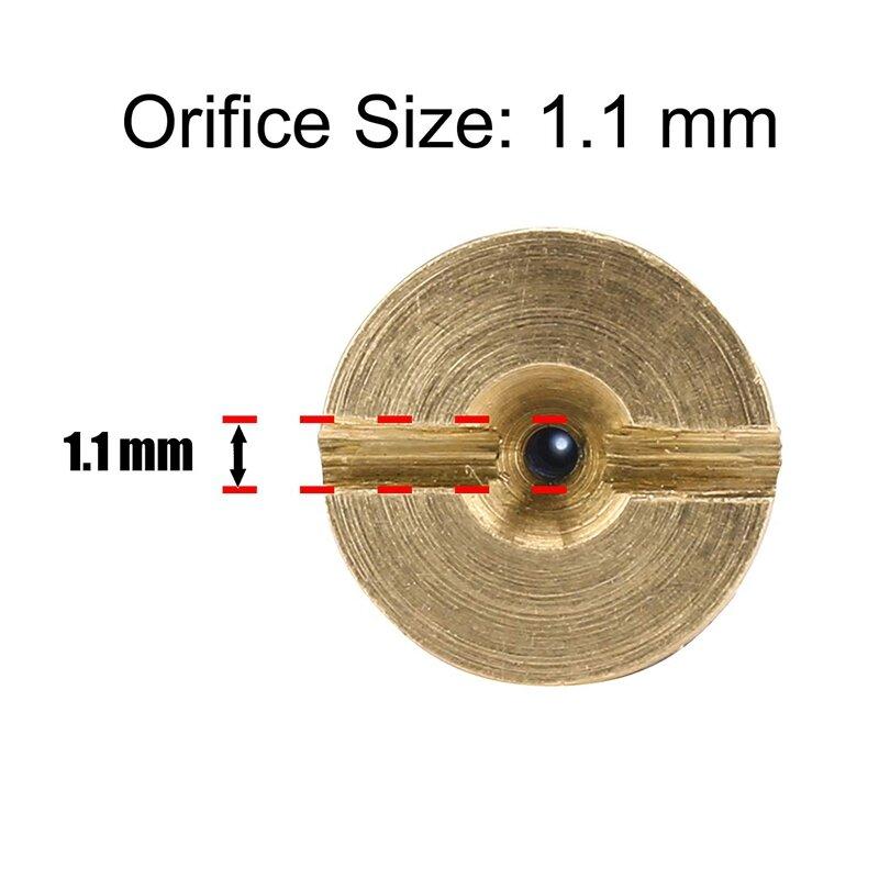 رغوة مدفع الفوهة فوهة نصائح ورغوة صانع ، العالمي 1.1 مللي متر موضوع فوهة و شبكة تصفية للثلج رغوة انس ، 3000 Psi