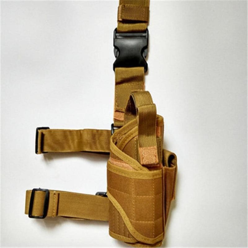 600D أكسفورد القماش أكمام الساقين غطاء الساق مع جيوب متعددة الأغراض الساق أكياس في الهواء الطلق