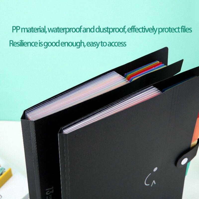 توسيع مجلد ملفات s إلكتروني حجم الأكورديون منظم وثائق A4 حافظة ملفات بلاستيكية مجلد ملفات منظم وثائق