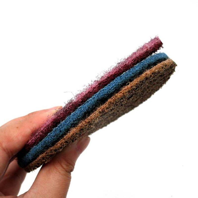 2''3''4''5'' بوصة 3M سطح تكييف القرص ل الرملي المعادن سطح الإعدادية هوك و حلقة الألومنيوم أكسيد تنظيف التشطيب ،