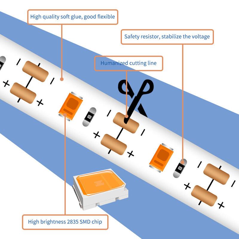 أدى الطيف الكامل تنمو شرائط مصباح 0.5m 1m 2m 3m USB مصنع مصباح 5V الشتلات Fito أضواء LED للماء زهرة فيتو النمو مصباح