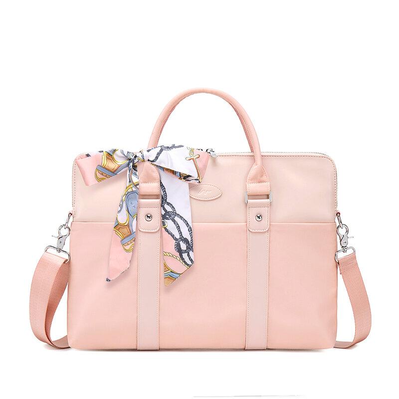 المرأة دفتر حقيبة لعام 13.3 15 16 بوصة محمول حقيبة كروسبودي حقائب كتف الأعمال السفر مكتب حقائب سيدات