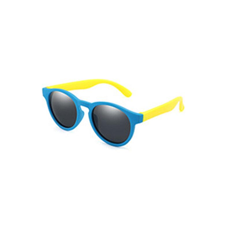 2021 جديد الاطفال الاستقطاب النظارات الشمسية الفتيان الفتيات نظارات شمسية نظارات السلامة سيليكون هدية للأطفال طفل UV400 نظارات
