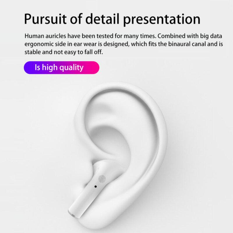 I11 برو TWS دعم بلوتوث 5.0 سماعة لاسلكية سماعة ستيريو سماعة الرياضة سماعات مع صندوق شحن آيفون Redmi