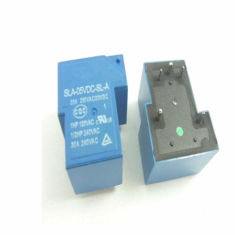 10 قطعة السلطة التبديلات SLA-05VDC-SL-A 5 فولت 30A 5PIN T90 مجموعة من مفتوحة عادة جديدة ومبتكرة