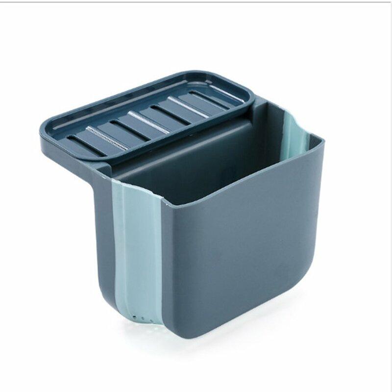مصفاة بالوعة سلة مع شفط كأس طوي معلق بالوعة الغذاء مصفاة المطبخ مرتبة المنظم رف