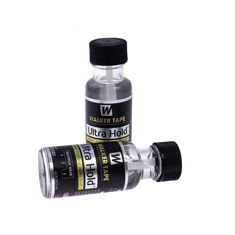 15 مللي نظام لاصق لشعر السندات السائل فائق التحمل صمغ بالسليكون لباروكات الدانتيل/الشعر المستعار/الإغلاق/اللحية ومزيل 1
