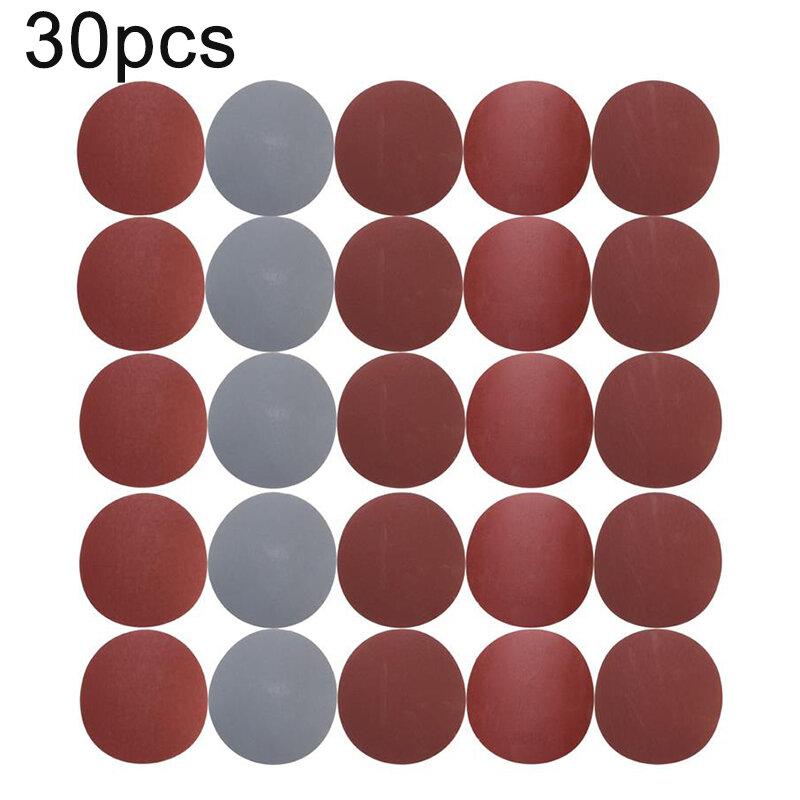 30 قطعة 125 مللي متر الجولة يتدفقون الصنفرة 800/1000/1200/1500/2000/3000 حصى الرملي ورقة لوحة تلميع أدوات جلخ