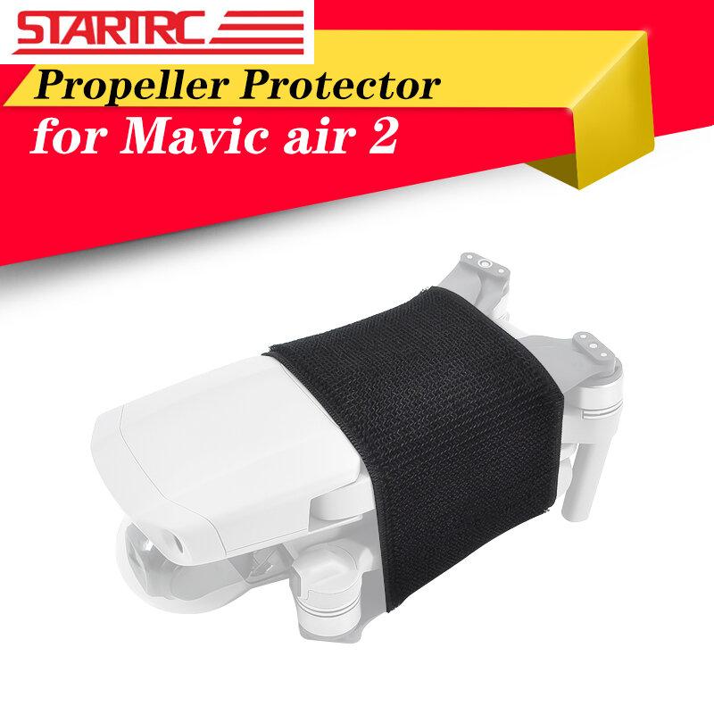 STARTRC-مثبت المروحة ، مثبت الشفرة ، دعم المحرك الثابت ، واقي التخزين لـ Mavic Air 2