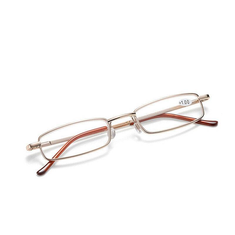 Seemfly نظارات للقراءة مع القلم أنبوب حالة الرجال النساء خفيفة المحمولة الكمبيوتر HD طويل النظر نظارات الديوبتر + 1.0 إلى + 4.0