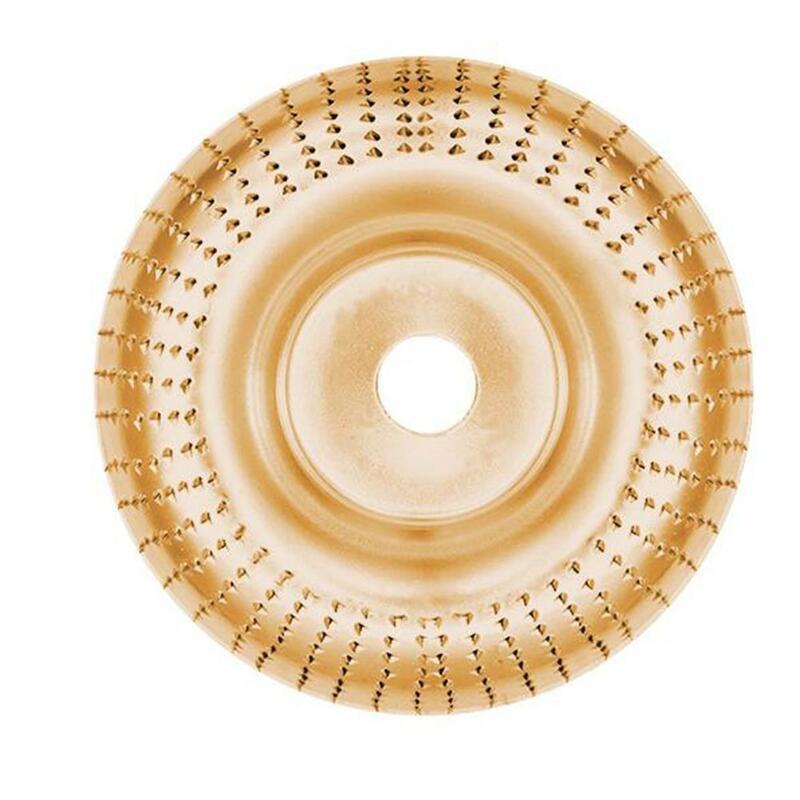 100 مللي متر المتطرفة تشكيل القرص كربيد التنغستن الخشنة الخشب نحت القرص ل زاوية طاحونة الخشب طحن عجلة أدوات