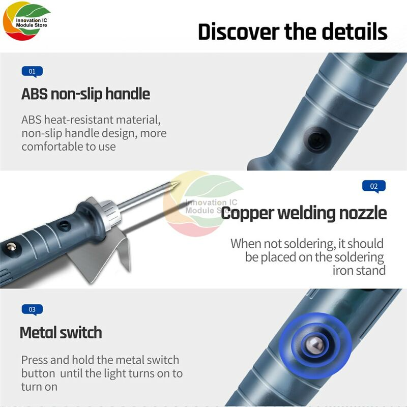 5 فولت 8 واط المحمولة USB سبيكة لحام كهربائي تلميح لحام ملحقات المسدس مناسبة للكهرباء سبيكة لحام مجموعة أدوات اليد