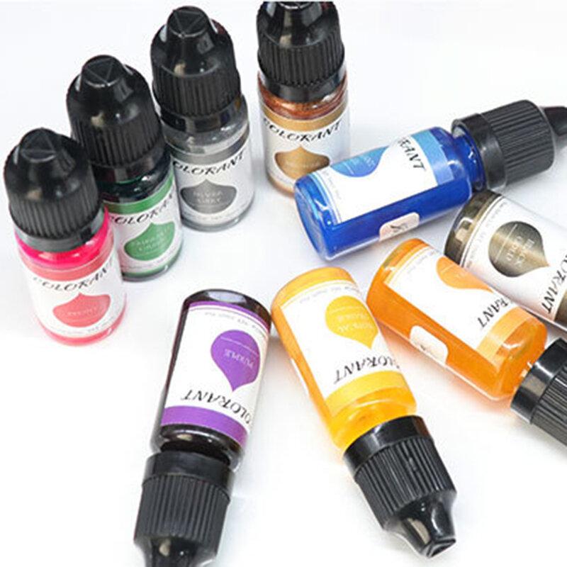 لون الصباغ السائل الايبوكسي الراتنج لون تينت الأشعة فوق البنفسجية الراتنج تلوين صبغ السائل تلوين لصنع مجوهرات من مادة الراتنج بوتي666
