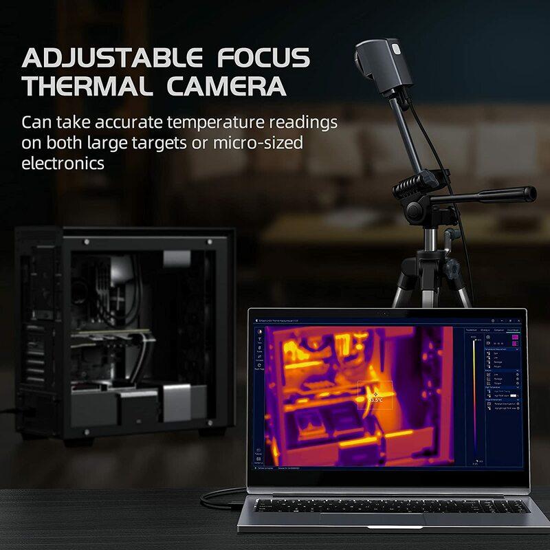 A-BF الأشعة تحت الحمراء الحرارية محلل 260*200 الأشعة تحت الحمراء بكسل بيكتوب PCB كاميرا تصوير حراري PCBA تصميم إصلاح التفتيش برنامج الكمبيوتر
