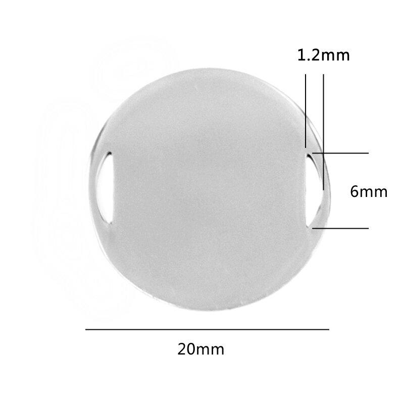 20 قطعة/الوحدة 20 مللي متر مرآة جولة لديه معيب قليلا نقطة و شريط مصنوعة من الفولاذ المقاوم للصدأ ل رخيصة بيع