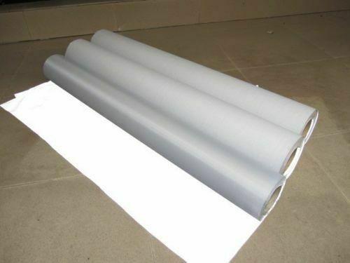 قماش عاكس فضي مخيط على المادة 3 × 39 بوصة 1 م × 1 م