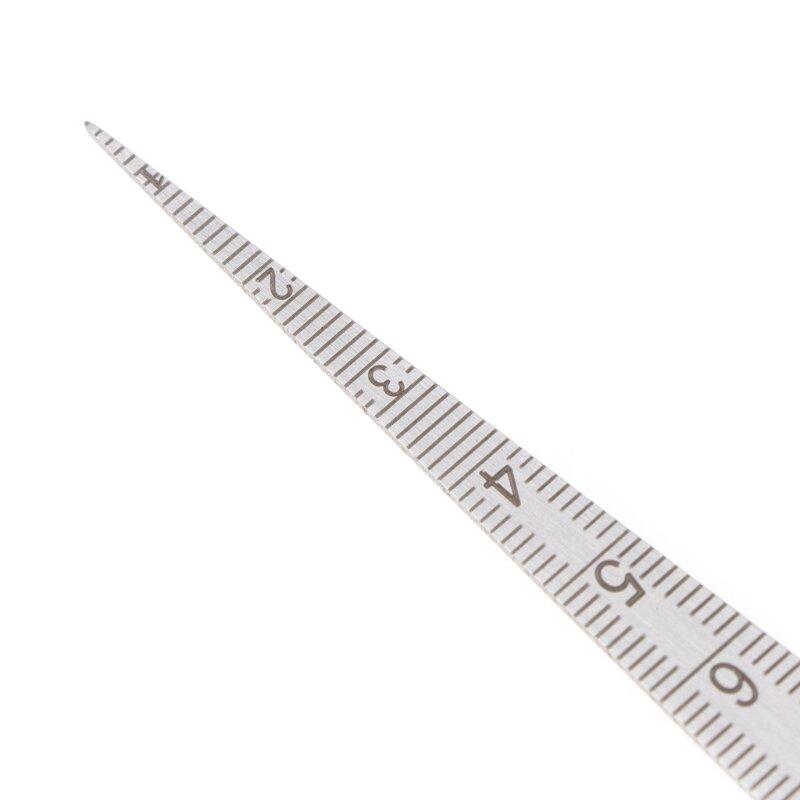 1-15 مللي متر الفولاذ المقاوم للصدأ تفتق مقياس المحسس ثقب متري بوصة أداة قياس