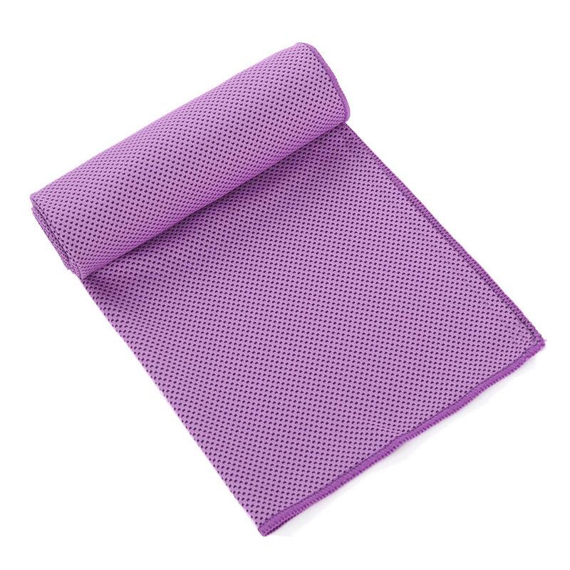 الصيف النساء منشفة رياضية الشعور البارد عرق التبريد منشفة جليدية تشغيل السفر في الهواء الطلق منشفة الصالة الرياضية