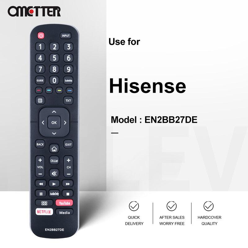 استخدام جهاز التحكم عن بعد لتلفزيون هيسنس EN2BB27DE لتلفزيون دوفلر 65مسو86