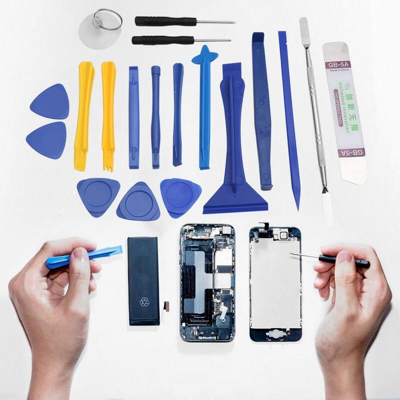 العالمي Spudger حدق افتتاح مفك الهاتف تفكيك طقم أدوات إصلاح 19 قطعة/المجموعة لابل سامسونج باد الهاتف المحمول
