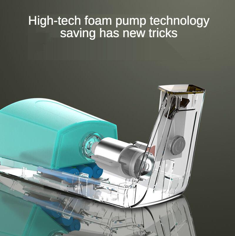ذكي موزع الصابون السائل التلقائي التعريفي رغوة غسل اليد جهاز مجموعة للمطبخ الحمام دروبشيبينغ