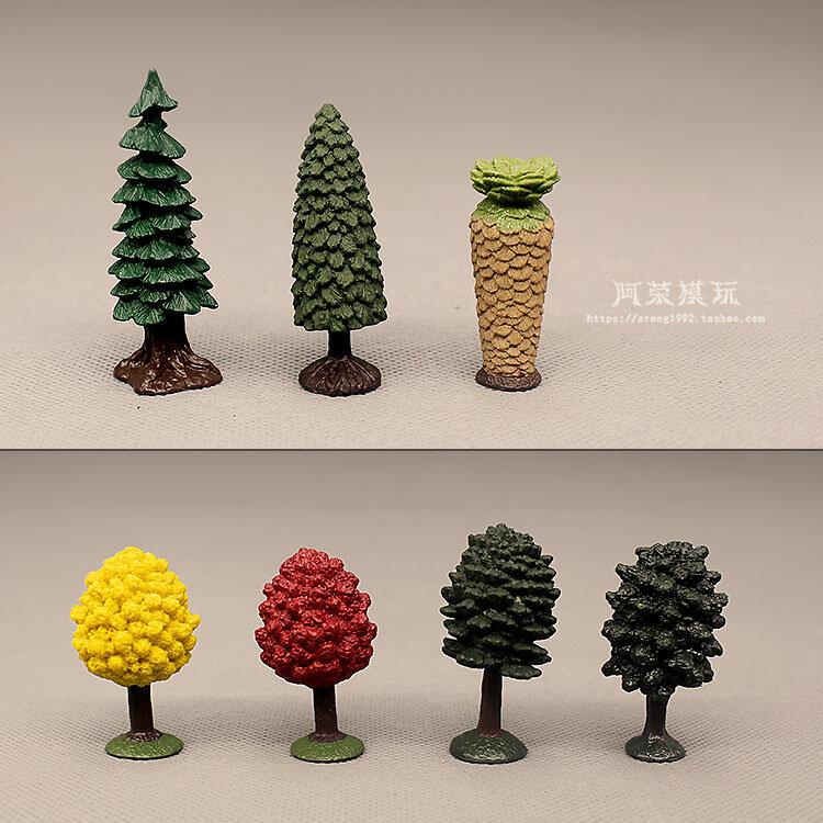 نموذج مصنع محاكاة زخرفة صغيرة الصنوبر عيد الميلاد Cycas ريفولوتا Thunb الجنية حديقة موس مصغرة اكسسوارات الديكور اللعب